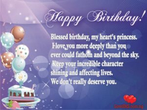 Sweet Birthday SMS for Her | Best Birthday Wishes for your love